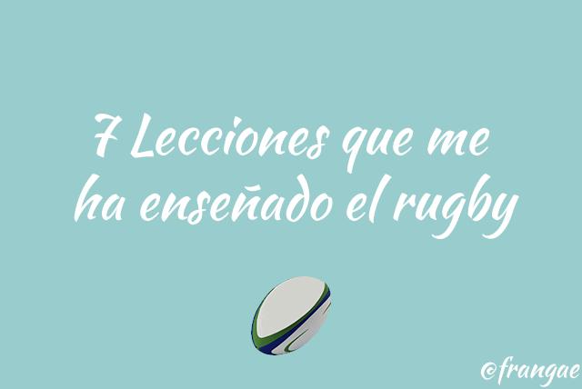 7 lecciones rugby