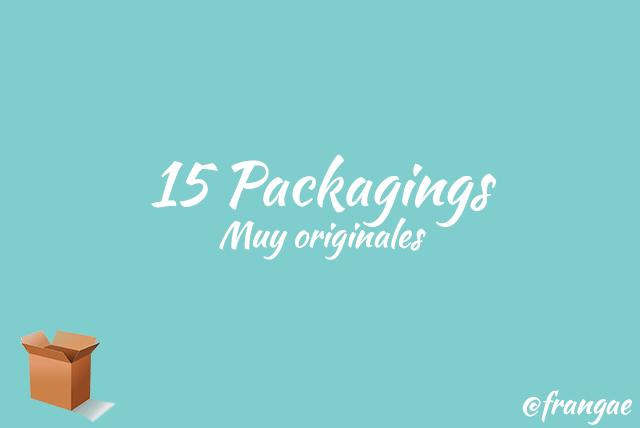15 packagings muy originales