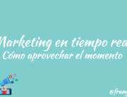 marketing en tiempo real